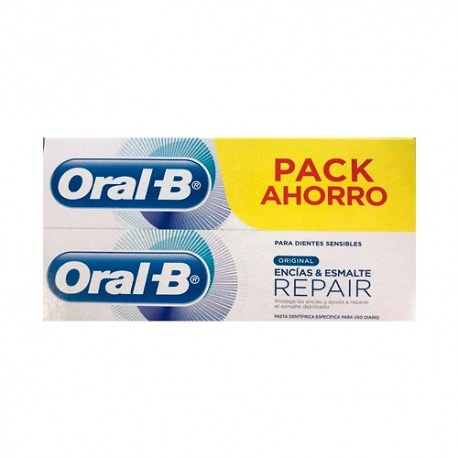 Oral-B Pack pasta dentÍfrica encias-esmalte repair 2x125ml