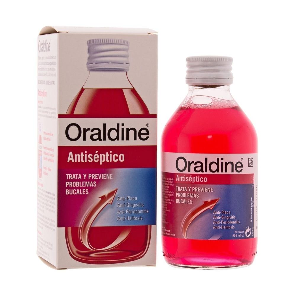 Oraldine Enjuague Bucal Antiseptico 400 Ml