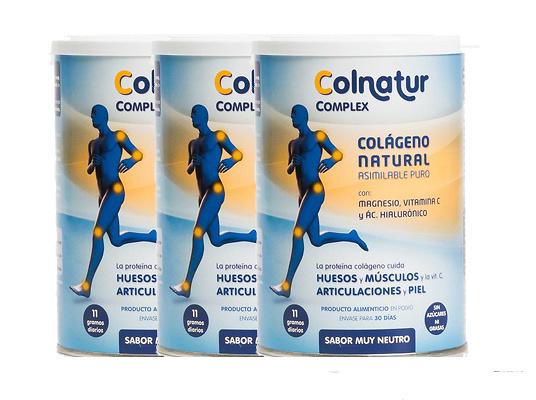 Pack 3 Colnatur Complex sabor neutro 330g