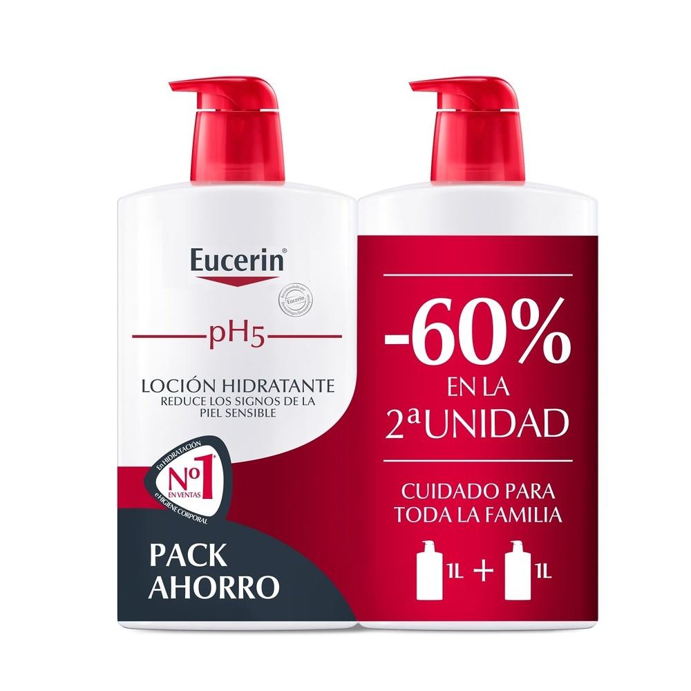 -Eucerin ph5 Loción Piel Sensible 1000 ml + 400 ml Gratis