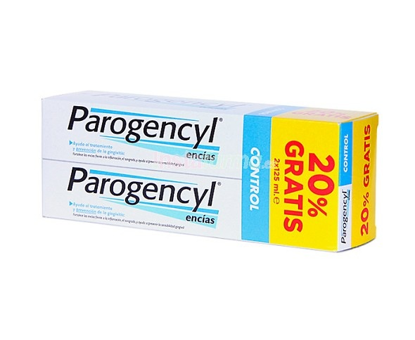 Parogencyl Control Pasta Dental Duplo 2 X 125 Ml
