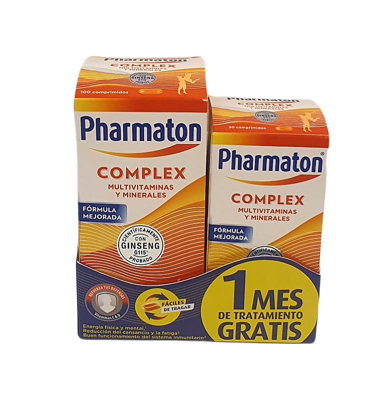 Pharmaton Complex 60 Capsulas + 30 cápsulas de regalo