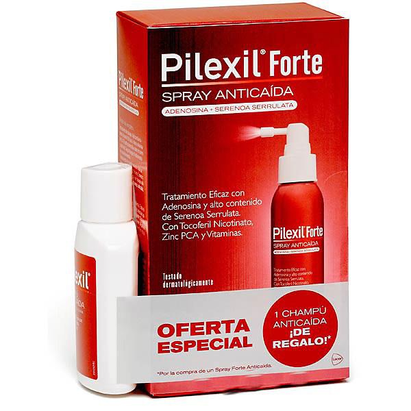 Pilexil Spray FORTE Anticaida 120ml + regalo champu anticaida 100ml