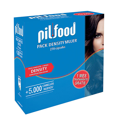 Pilfood Pack density woman tratamiento 3 meses (270 cápsulas)
