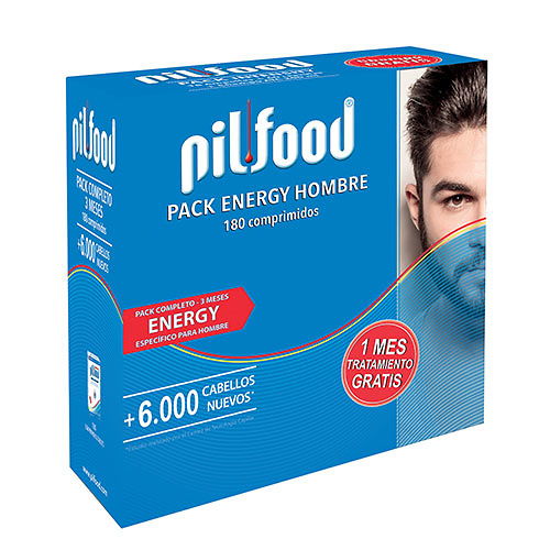 Pilfood pack energy man 180 comprimidos