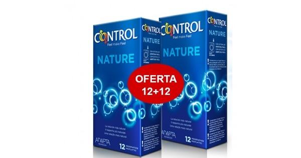 Preservativos Control Adapta Nature 12 Unidades + 3 de Regalo Pack 2x1