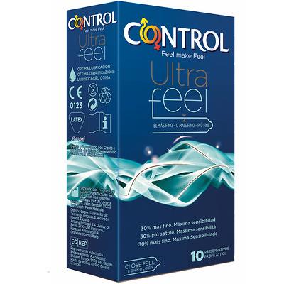 Preservativos Control Ultra feel 10 unidades