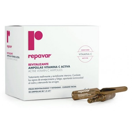 Repavar Revitalizante 20 Ampollas de 1,5ml