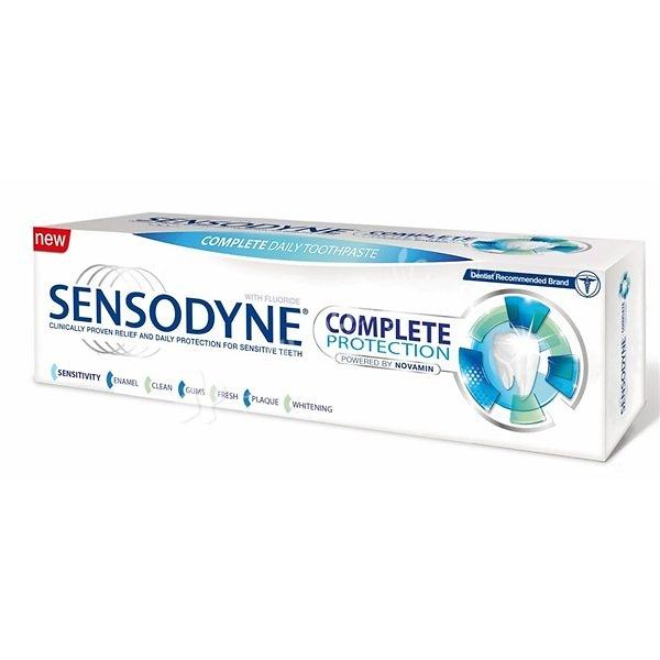 Sensodyne acción completa pasta dentífrica 75ml