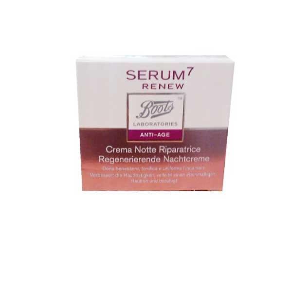 Serum 7 RENEW Crema Revitalizante de Noche 50 ml
