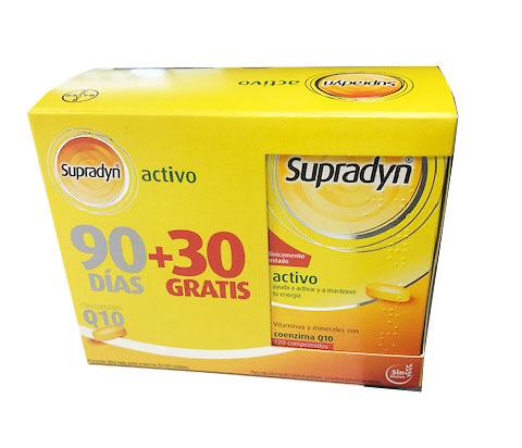 Supradyn activo 120 comprimidos. 1MES GRATIS