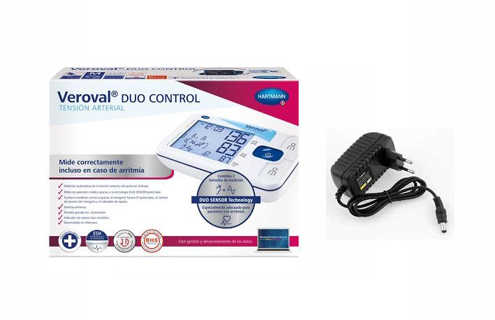 Tensiometro de brazo veroval duo control + adaptador de corriente