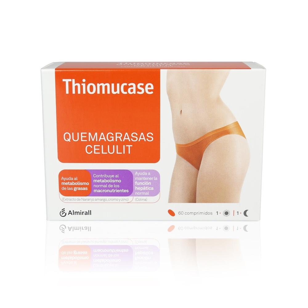 Thiomucase quemagrasas celulit 60 comprimidos