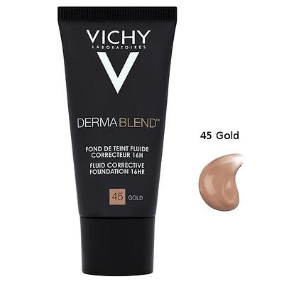 Vichy Dermablend Maquillaje fluido nº45 gold 30ml