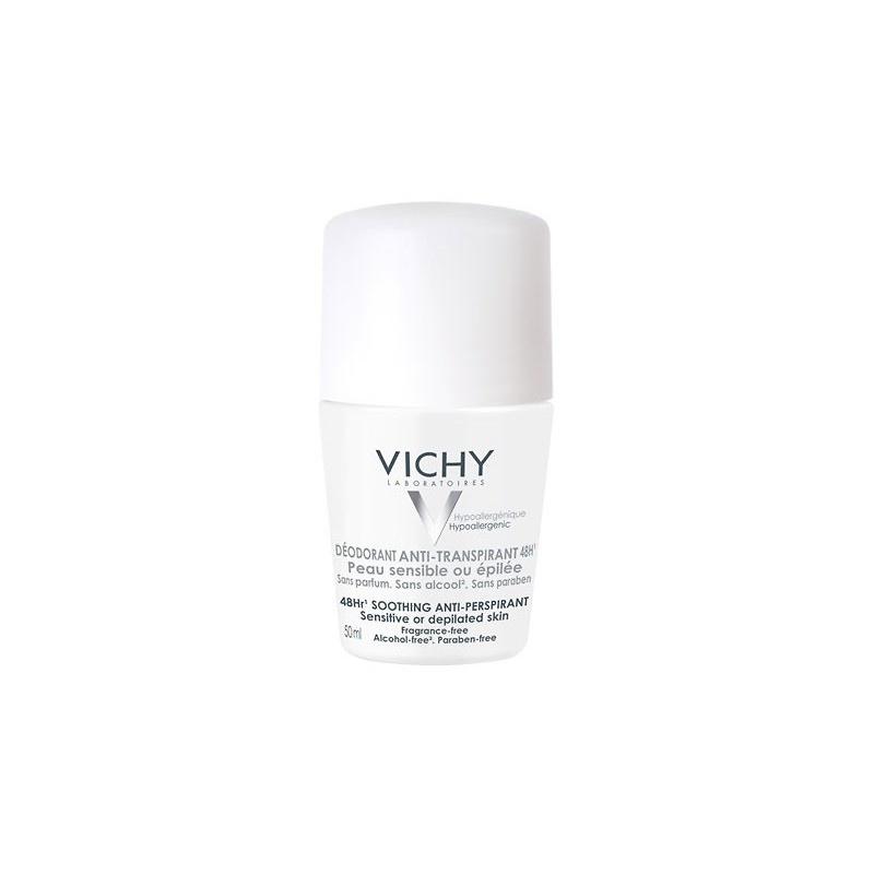 Vichy Desodorante Roll On Piel Sensible