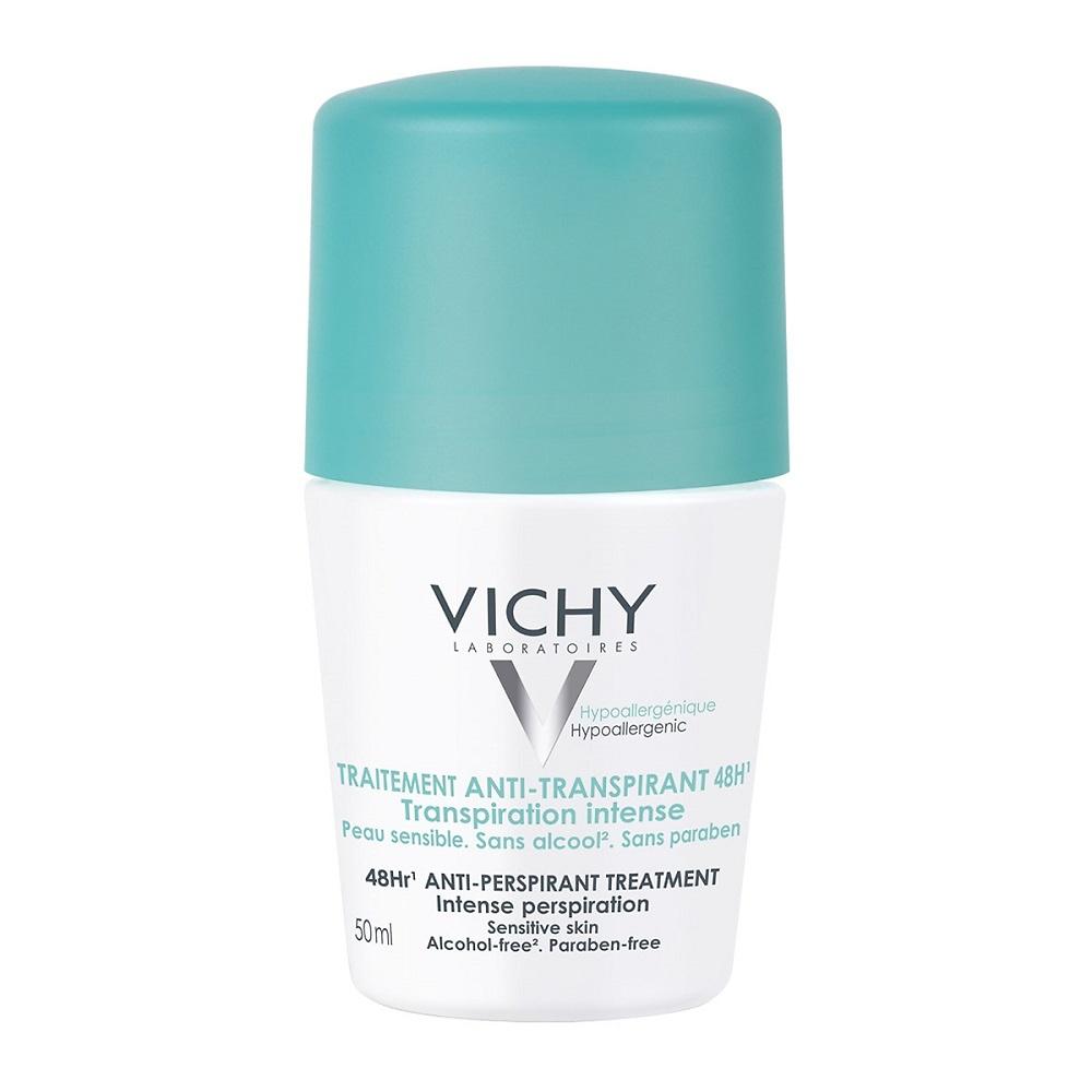 Vichy Desodorante Roll On Tratamiento Antitranspirante 48 H