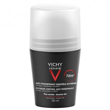 Vichy Homme Desodorante Roll On Antitranspirante