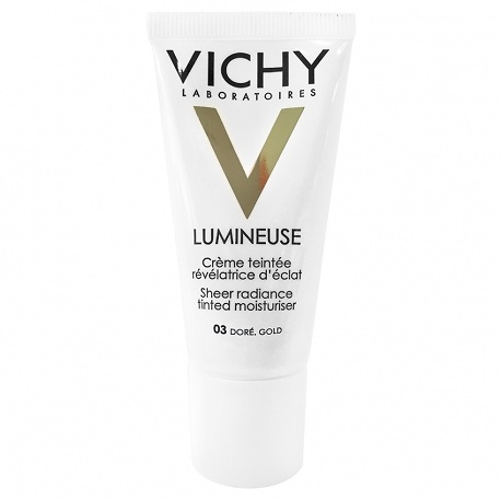 Vichy Lumineuse crema coloreada nº3 gold piel seca 30ml