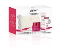 - Lierac Cofre Magnificence crema día y noche piel seca 50ml + leche micelar 200ml + loción tónica 30ml + neceser