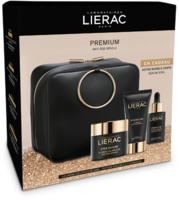 -Lierac Premium Neceser crema ligera piel normal-mixta 50ml + mascarilla 75ml + REGALO serúm 30ml