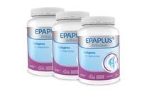 -Pack 3 unidades Epaplus colágeno e hialurónico en polvo 3x420g
