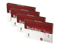-Pack 4 Revidox (Total 120 Capsulas) + Regalo Revidox ADN Test de Edad biológica