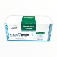 -Somatoline Pack reductor 7 noches ultraintensivo gel fresco 400ml + crema exfoliante sal marina 350g