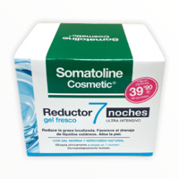 -Somatoline Reductor 7 Noches ultra intensivo gel fresco fragancia marina 400ml