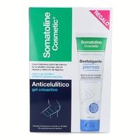 -Somatoline Tratamiento De Choque (7 Noches gel fresco 450 ml + Celulitis Resistente 150 ml)