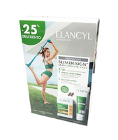 3- Elancyl Pack Slim Design DUO 60 cápsulas reductoras + gel reductor de vientre 150ml