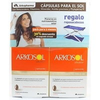 Arkosol advance pack 2 x 30 perlas + regalo reposacabezas