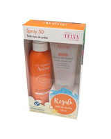 Avene Solar Spray  Spf 50+ 200 Ml + regalo Gel de Ducha 100 Ml