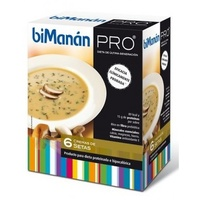 Bimanan Pro Crema De Setas 6 sobres