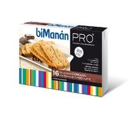Bimanan Pro Galletas Cereales Y Chocolate 16 Unidades