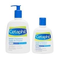 Cetaphil loción de limpieza piel sensible 473ml + regalo 237ml