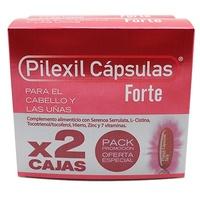 Duplo Pilexil Anticaida Cápsulas FORTE Cabello y uñas 100 + 100 cápsulas