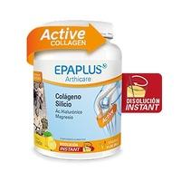 Epaplus Colágeno, silicio, hialurónico, magnesio en polvo sabor limón 334g (Nueva Fórmula)