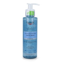 Eucerin Dermatoclean Gel Limpiador Facial,  Piel normal y mixta, 200ml