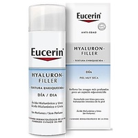 Eucerin Hyaluron filler textura enriquecida piel muy seca crema de día 50ml