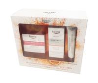 Eucerin Pack Volume-lift crema de día piel normal-mixta 50ml + contorno de ojos 15ml + vitamina C booster serum 8ml