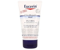 Eucerin UreaRepair plus crema de manos con urea al 5%, 75ml