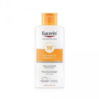 Eucerin sun protection sensitive loción extra light SPF50+, 400ml