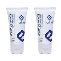 Farline crema de manos hidratante duplo 2x50ml
