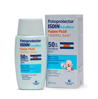 Fotoprotector Isdin pediatrico fusion fluid spf50+ mineral baby 50 ml