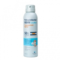 Fotoprotector isdin spf50 pediátrico spray transparente 200ml