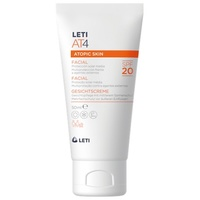 LetiAT4 Atopic skin crema facial SPF20 50ml