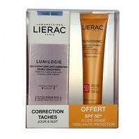 Lierac Lumilogie Pack corrector intensivo de manchas dia & noche 30ml + lierac sunissime spf50+ 40ml
