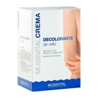 Mussvital crema decolorante 5 sobres