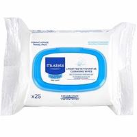 Mustela toallitas humedas suavizantes 25 unidades