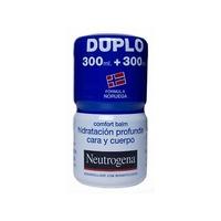 Neutrogena bálsamo corporal hidratación profunda cara y cuerpo duplo 2x 300ml